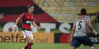 Filipe Luís em Flamengo e La Calera